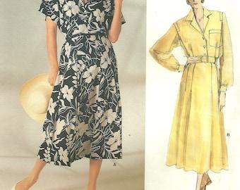 Vogue 1722 / Vintage Designer Sewing Pattern By Ralph Lauren / Dress / Size 12 Bust 34