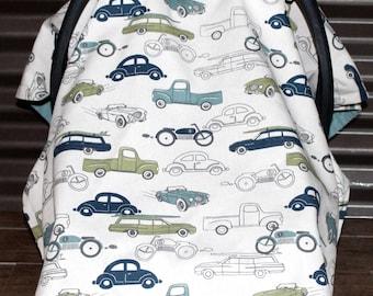 Car Seat Cover / Car Seat Canopy - Classic Cars