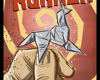 Blade Runner Art Print,Movie Poster,Geekery, Birthday Present, Movie film, Father's Day, Dad