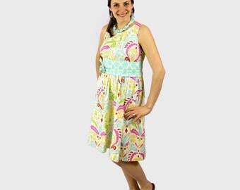 Full Skirt Dress Pattern - 11 sizes - 0-20 - INSTANT DOWNLOAD