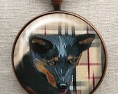 Blue Heeler Keychain ~ Dog Keychain ~ Gifts for Him ~ February Birthday ~ Trending Items