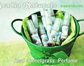 Sacred Sweetgrass Natural Spray Perfume