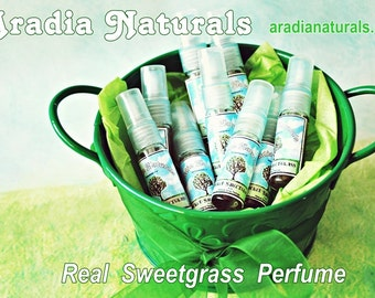 Sacred Sweetgrass Natural Spray Perfume