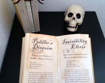 12 Printable Halloween Spells
