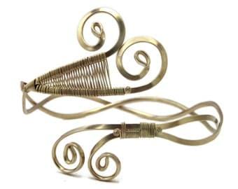 Silver Armlet Boho Arm Band Ancient Greek Arm Bracelet Upper Arm Bangle Upper Arm Cuff Silver Arm Band Arm Jewelry Wedding Jewelry