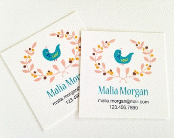 Personalized Business Cards, Calling Cards, Set of 48