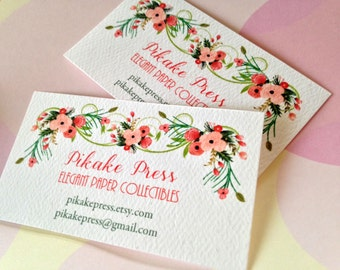 Business Cards, Custom Business Cards, Set of 50