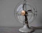 Vintage French Calor Desk Table Fan 1950s Bakelite