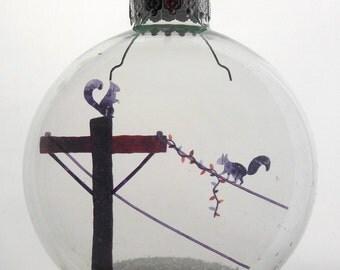 Holiday Spirit Christmas Ornament