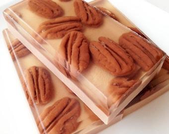 Soap - Southern Pecan Pie Soap Bar - Buttermilk Bath Soap - Pecan Pie Soap