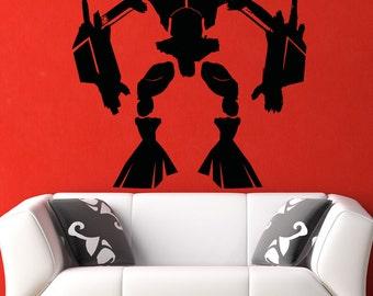 Vinyl Wall Decal Sticker Alien Robot 5145m