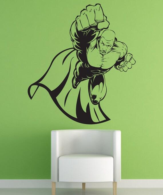 vinyl wall art decal sticker superhero 1310s