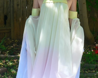 Padme Lake Gown Costume, Cosplay, Star Wars, Episode II, Attack of the Clones, Custom Made