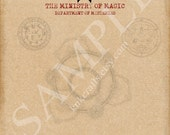 Department of Mysteries of the Ministry of Magic Harry Potter Stationery