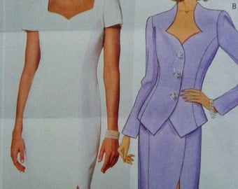 Butterick 5936 Evening Dress Pattern Sweetheart Neck Princess Seams Maxi Dress Bust 31.5 to 34 UNCUT