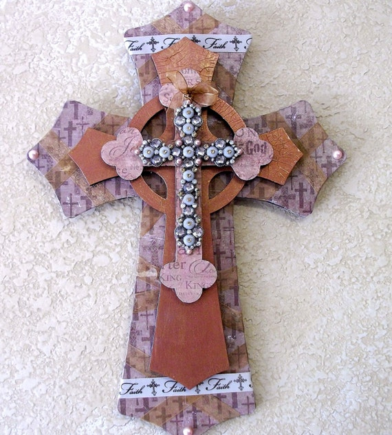 Home Decor Christian Crosses Wood Wall Art Wooden Cross