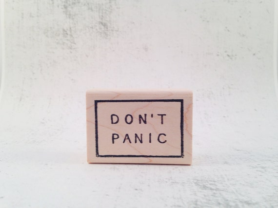 The Don't Panic Stamp