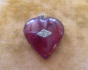 Charming Vintage Heart Pendant