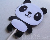 Panda Bear Cake Topper or Panda Bear Centerpiece
