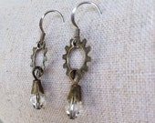 Industrial Sprocket Earrings - Steampunk Style - Industrial Jewelry Unique Gift