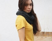 SALE piper wool and mohair cowl neckwarmer - mountain