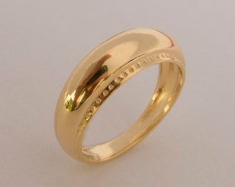 viking ring no2 14k gold ring unisex ring wedding ring wedding band mens ring - Viking Wedding Rings