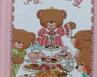 My Tea Party Personalized Book - Your Child Will Be The Star In This Book That Is All About Having A Tea Party And Learning Manners