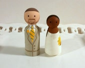 Cake Cuties- Custom Wedding Cake Toppers Small Size