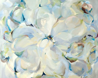 Giclee Reproduction on archival rag paper, 19x19, Untarnished, artist Molly Courcelle