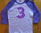 Birthday Shirt - 3 Year Old Shirt - 3rd Birthday - Age Three - 3rd Birthday Tee - Birthday Party - Boy / Girl - Long Sleeved - Gift Friendly
