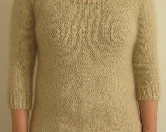 PATTERN Classic Fitted Sweater Pdf Download