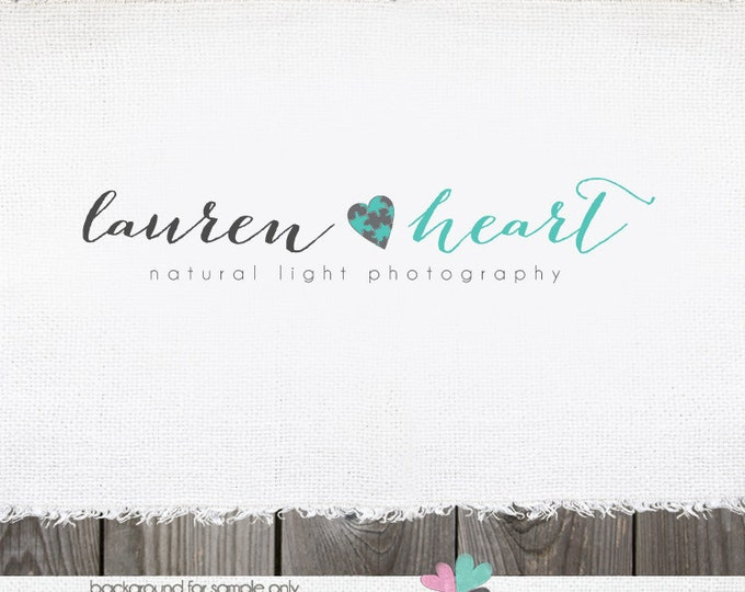 Hair bow logo design
