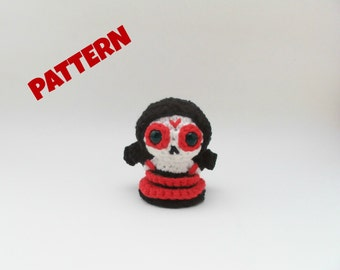 Skeleton Doll Pattern / Black Friday Patterns / Christmas Pattern / Kids Patterns / Crochet Doll Pattern / Amigurumi Doll Pattern / Kid Toys