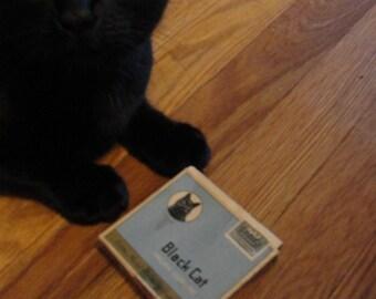 Black Cat Virginia Cigarettes box