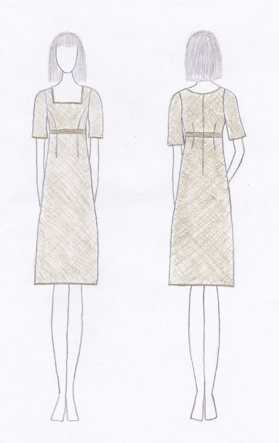 Custom 20s Style Dress for Stacy Garland Embroidered Lace Overlay