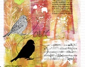 Sparrow Artsy Elements - Bird Lover's Digital Kit - INSTANT DOWNLOAD for Scrapbooking, Cards, Crafts, Journaling, Collage
