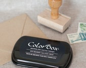 Midnight Dark blue ink pad - Colorbox Archival Dye Ink Pad for rubber stamps