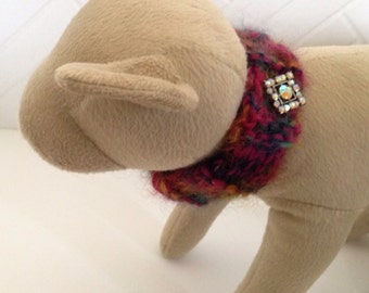 Dog Scarves Hand-knitted