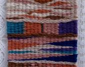 Peg Loom Weaving Sampler - Instruction Booklet (PDF)