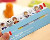Canada - World Costume Stick Marker / Sticky Notes