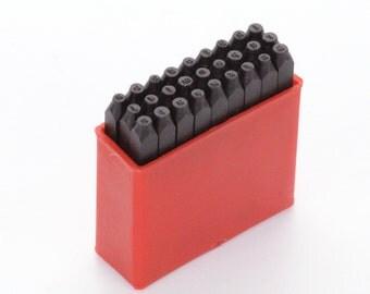 "Economy SANS SERIF LOWERCASE Metal Stamping Set,  Small 1.5mm (1/16"")  tol0214"