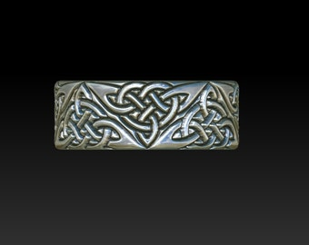 wedding ring  celtic ring   celtic band    celtic wedding ring   celtic wedding band mens ring YB17