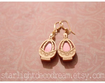 MINI MADOKA Acrylic Soul Gem Earrings Puella Magi Madoka Magica Fanart for Magical Girl Lover, Cosplay, or Mahou Kei