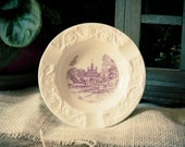 Vintage Original The Governor's Palace Wedgewood Small Plate Williamsburg Virginia made in England