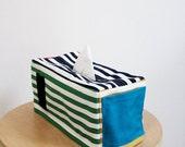 Both sides Stripe Tissue Case - PeterPan Serise (Handmade)