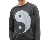 now *** on SALE **** 90s YIN yang super soft RAGLAN sweatshirt
