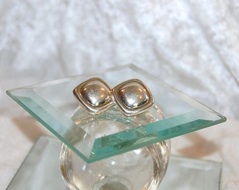 Vintage Taxco TC-25 925 Silver Earrings- Sterling Silver - Clip On