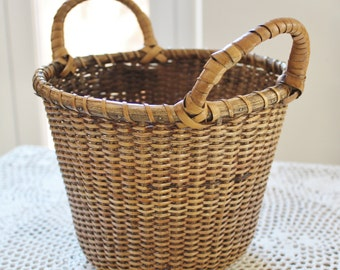 Nantucket Style Basket with Two Handles