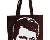 Ron Swanson ICON Tote Bag