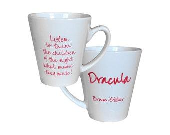 DRACULA Quote Mug Bram Stoker